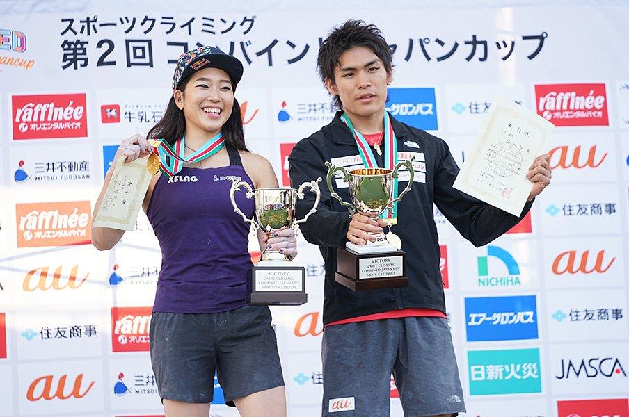 スポーツクライミングの醍醐味が満載。西条を熱くしたコンバインドの激闘。<Number Web> photograph by Ichiro Tsugane