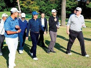 """""""ゴルフ外交""""が成り立つ理由。~丸山茂樹「人と人が一緒に6時間過ごすスポーツ」~"""
