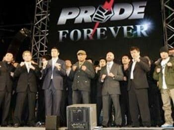 PRIDE消滅の衝撃<Number Web> photograph by Tomoki Momozono