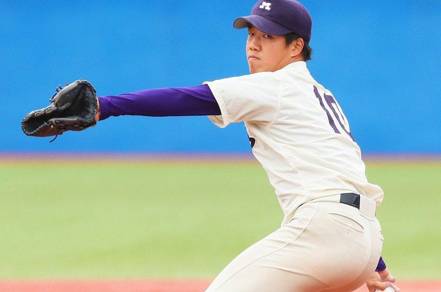 ドラフトでも、球場でも大人気の男。中日1位・柳裕也の図太い変わらなさ。<Number Web> photograph by NIKKAN SPORTS