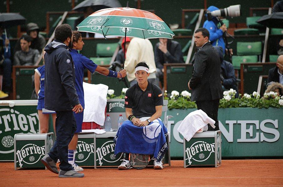 錦織圭はシングルスだけで良い!?テニス選手はリオ五輪で損ばかり。<Number Web> photograph by Hiromasa Mano