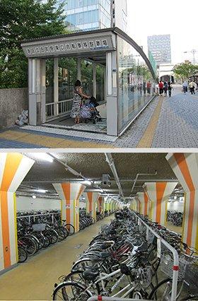 自転車の 亀戸 自転車 駐輪場 : 山手線・田町駅前の地下駐輪場 ...