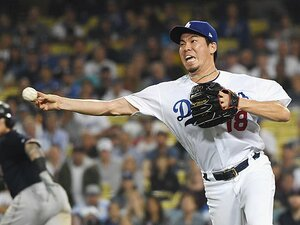 """ドジャース""""マン振り野球""""の中でマエケンの好守にプロの技を見た。"""