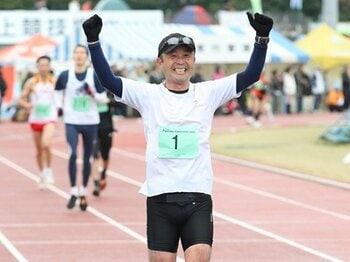 金哲彦、51歳のサブスリー挑戦宣言!達成への3つの条件と、2つのテーマ。<Number Web> photograph by Tetsuhiko Kin