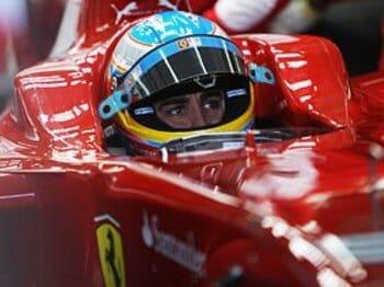 """待望の2010年F1シーズンが到来。""""跳ね馬・アロンソ王国""""の出現か?<Number Web> photograph by Getty Images"""