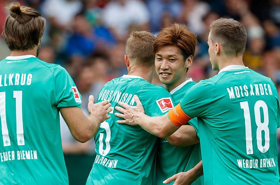 今季ブンデスは日本人選手が受難。でも大迫勇也はクラブで絶大な信頼!<Number Web> photograph by Getty Images