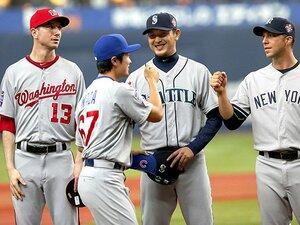 日米野球、真剣勝負の度合いは?MLB選抜の陣容に見る、現実と理想。