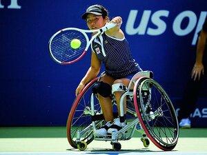 パラリンピック開幕まで1年。前女王、上地結衣の新スタイル。~車いすテニスのライバル関係~
