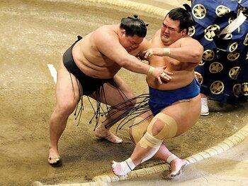 上位陣は負け越しだらけ。初場所で活躍した力士は?~遠藤、輝、阿武咲に感じる光明~<Number Web> photograph by NIKKAN SPORTS