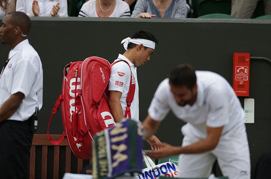 ATPポイント無しだが選手村は楽しみ。錦織圭、リオ五輪での悩みどころ。<Number Web> photograph by Hiromasa Mano
