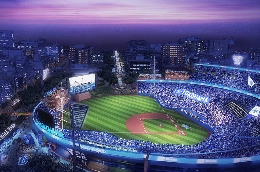 ライトスタンドがないという、あまりに斬新な構造。でも街を歩く人にスタジアム内が見えるのは、結構いいかも?