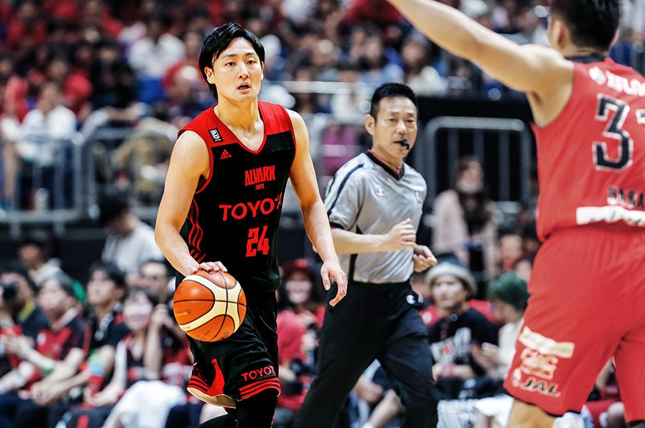 <Have a Dream 夢追い人の挑戦>田中大貴が思い描くバスケットボール人生。<Number Web> photograph by Kiichi Matsumoto