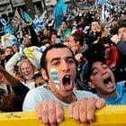 ウルグアイ、モンテビデオの狂乱