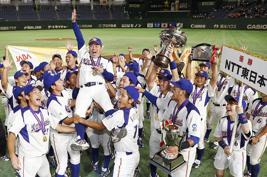 都市対抗で36年ぶり優勝のNTT東。セオリー無視の過激な盗塁野球の真実。<Number Web> photograph by Kyodo News