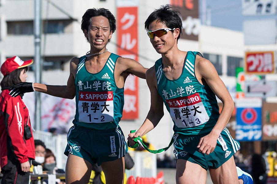 最後は独走状態になった青山学院大学だが、道中はかなり厳しい戦いを強いられた。駅伝特有のドラマが見られる、熱いレースだった。