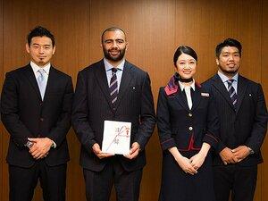 <第34回 Number MVP賞> ラグビー日本代表に決定!