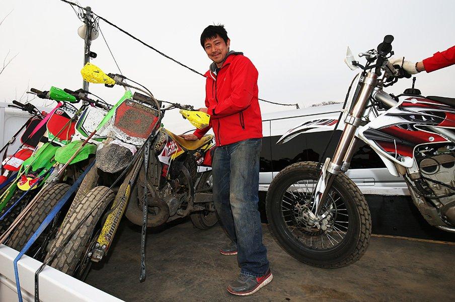 ホンダからBMW、そしてスズキ移籍。清成龍一の不器用なバイクの選び方。<Number Web> photograph by Satoshi Endo