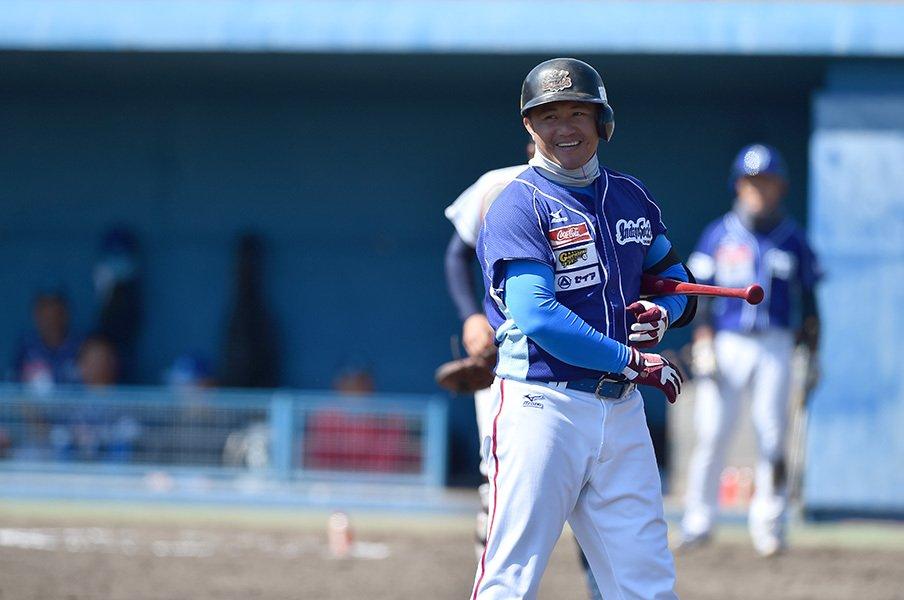 """""""台湾野球の至宝""""張泰山が、徳島インディゴソックスで見る夢。<Number Web> photograph by JIRO YAMADA"""