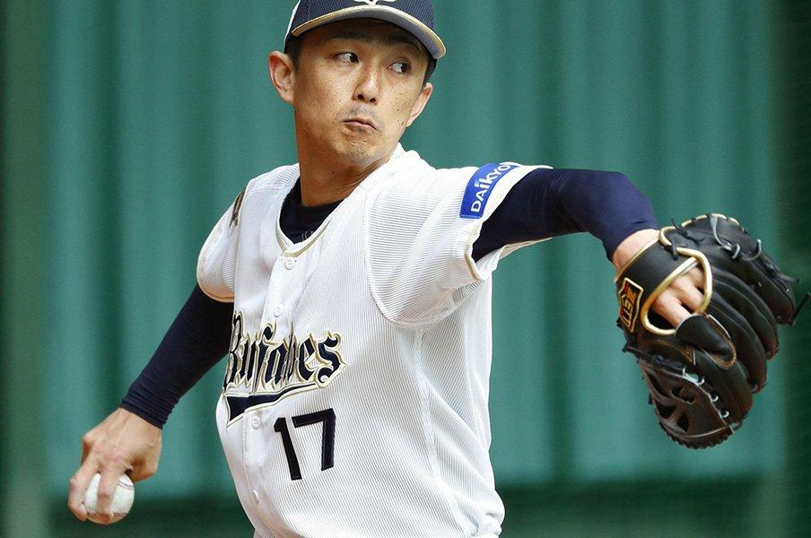 オリの新守護神・増井浩俊が貫く信念。リリーバーへのこだわりは新天地でも。<Number Web> photograph by Kyodo News