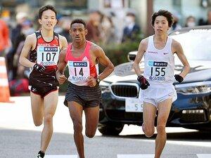東京マラソン、超ハイペースの理由。設楽悠太は日本一より世界一を狙う。