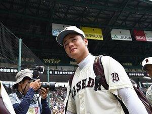 """「抑えられたら必ずそのボールを狙う」清宮幸太郎が甲子園にした""""忘れ物""""。"""