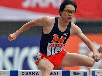 為末大を手本に躍進した、ハードラー・岸本鷹幸。~メダル級好タイムの五輪代表~<Number Web> photograph by Hiroyuki Nakamura