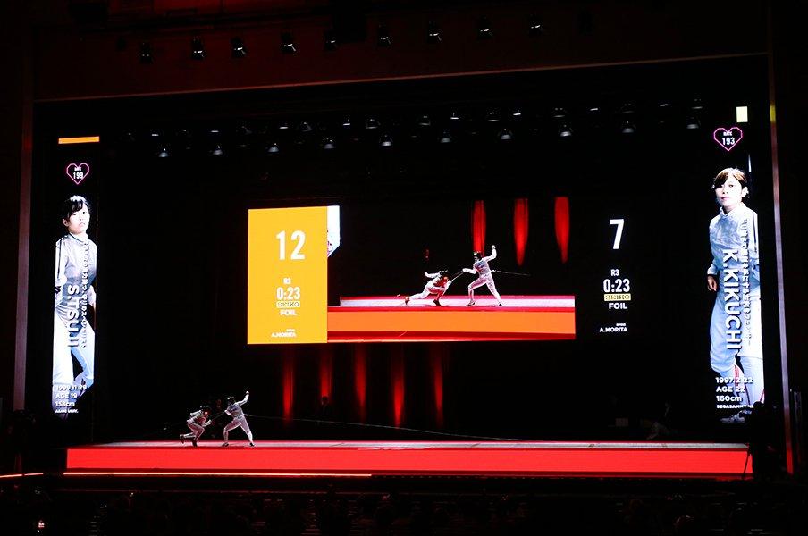 フェンシングの挑戦はまだ序章。想像を超えた全日本選手権の光景。<Number Web> photograph by YUTAKA/AFLO SPORT