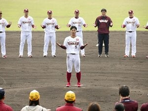 楽天の新主将・茂木栄五郎は、「脱・完璧主義」で背中を見せる。