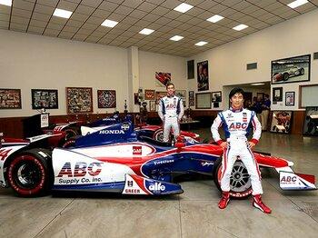 佐藤琢磨、苦難のシーズンを終え、インディカーでの2勝目を誓う。<Number Web> photograph by TS Enterprise