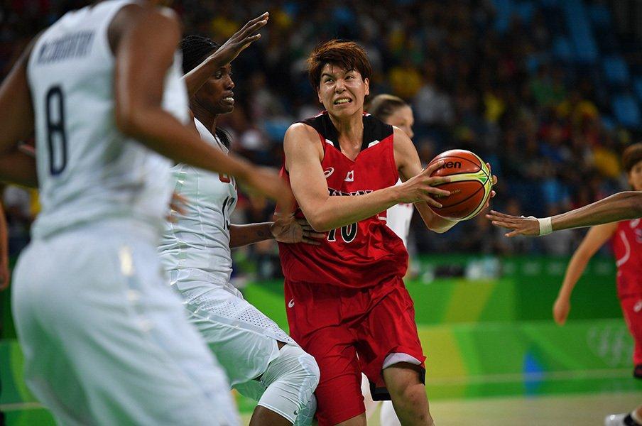 最強国相手で見えた可能性と限界。日本女子バスケ代表は絶対強くなる。<Number Web> photograph by JMPA