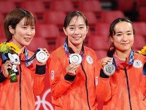 """「福原さんは、すごいな」卓球・石川佳純が見ていた""""リオのキャプテン""""の姿 団体""""銀""""の3人は東京五輪にどう挑んだか"""