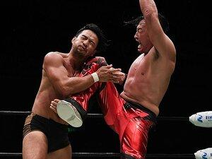 丸藤正道とKENTAが運命の再会!熱く燃えた5年ぶりシングルマッチ。