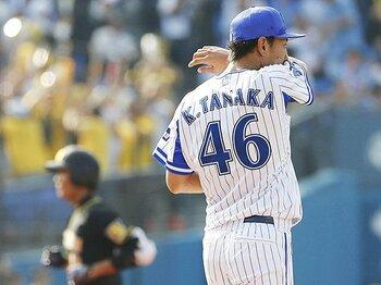 中継ぎの盟友・須田幸太が戦力外。DeNA田中健二朗は無念を背負う。<Number Web> photograph by Kyodo News