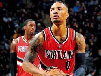 絶好調のリラードが、常に冷静沈着である所以。~NBA屈指のクラッチ・シューター~<Number Web> photograph by Getty Images