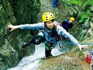 <沢登りin丹沢> はじめて川を歩いて、ちょっと探検隊の気分を味わう