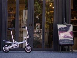 Numberコラボの異色折り畳み自転車。毎日が楽しくなる、お得な使い方とは?