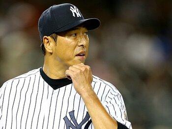 「肩をたたかれるまではやらないと」ヤンキース黒田博樹の自負と覚悟。<Number Web> photograph by Getty Images