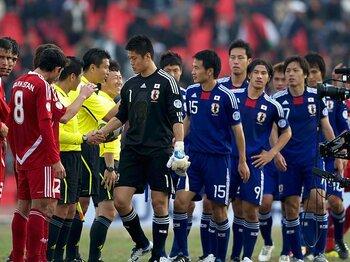 """福西崇史が語るタジク、北朝鮮2連戦。""""消化試合""""でも絶対に譲れないこと。<Number Web> photograph by Takuya Sugiyama"""