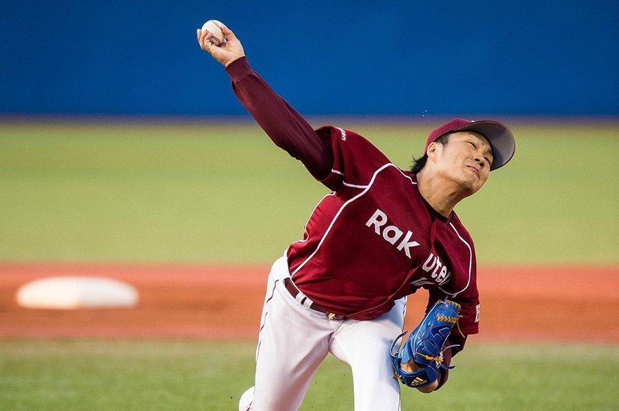 則本昂大はなぜ三振を求めるのか。損得勘定を超えた、投手の本能。<Number Web> photograph by Nanae Suzuki