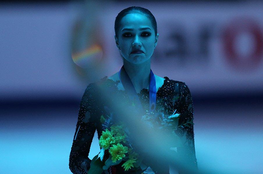 絶対女王がいない時代の欧州選手権。不調のザギトワは、生き残れるか?<Number Web> photograph by NurPhoto via Getty Images