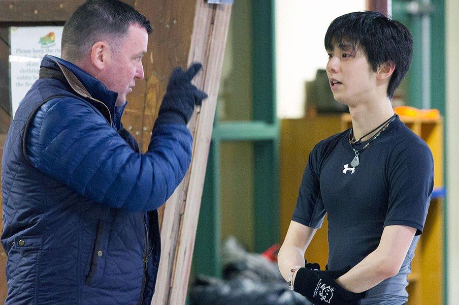 史上初となる4ループをついに試合で!羽生結弦、新シーズンの抱負を語る。<Number Web> photograph by Kyodo News