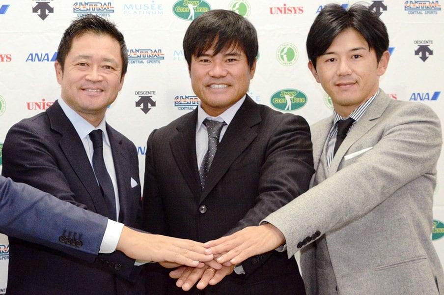 新選手会長に宮里優作が就いた意味。男子ゴルフ界、逆襲は「現場」から?<Number Web> photograph by Kyodo News