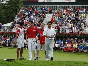 松山「なんで言ってくれるんだろう」ゴルフ界を担う仲間、とデイが指名。