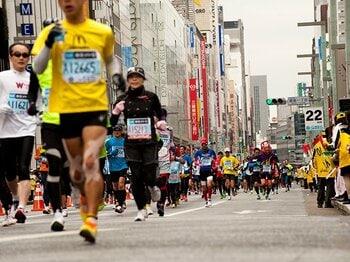 """ランナーが1000万人突破!""""ブーム""""を超えた背景は。~なぜ40代男性は走るのか?~<Number Web> photograph by Atsushi Kondo"""