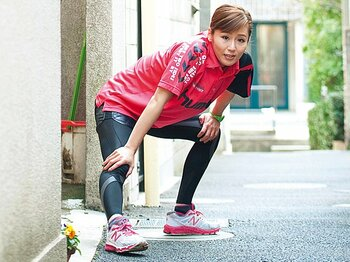 <フルマラソン、みんなのマイ・ルール> 芸人・にしおかすみこ 「女性ランナーはワセリンを忘れずに!」<Number Web> photograph by Mami Yamada