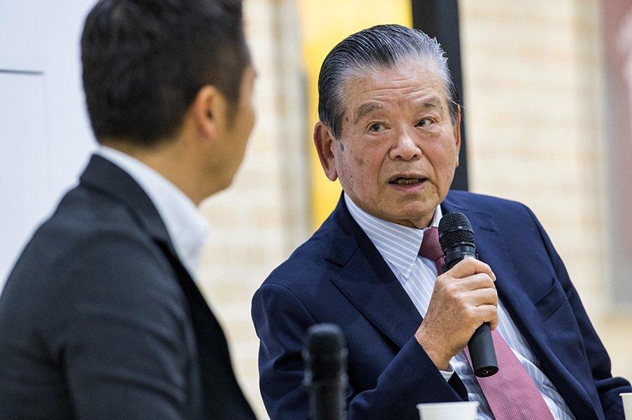 川淵三郎が相撲界の現状に物申す。「協会はその日暮らしをしている」<Number Web> photograph by Kiichi Matsumoto