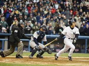 ヤンキース本拠地デビュー、満塁弾。松井秀喜、4月8日の知られざるツキ。