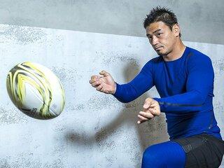 五郎丸が語るフィジカルの重要性。強く、しなやかな肉体を求めて。