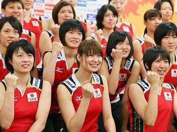 新主将・木村沙織率いる日本代表が、8月ワールドグランプリで本格始動。<Number Web> photograph by AFLO
