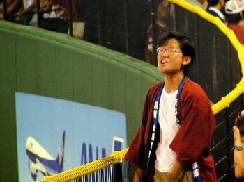 僕は楽天イーグルスの「初代応援団員」だった。<Number Web> photograph by Tomohiro Okano
